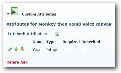 Folder attributes
